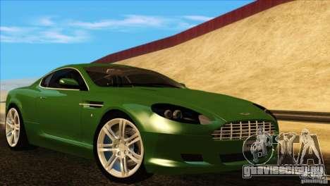Aston Martin DB9 для GTA San Andreas салон