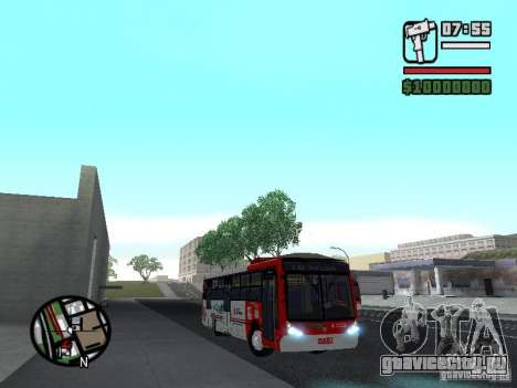 Caio Millennium TroleBus для GTA San Andreas вид сзади