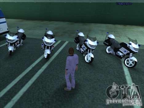 CopBike для GTA San Andreas вид слева