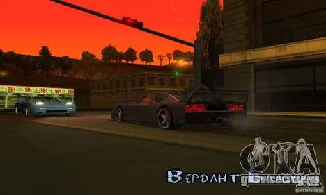 Sunshine ENB Series by Recaro для GTA San Andreas седьмой скриншот