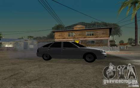 Лада Приора light tuning хэтчбек для GTA San Andreas вид справа