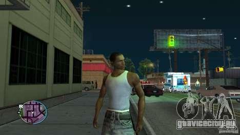 GTA IV HUD для широких экранов (16:9) для GTA San Andreas