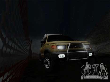 УАЗ 2760 для GTA San Andreas салон