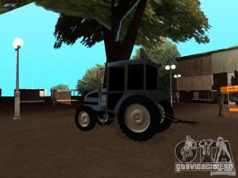 Трактор МТЗ 922 для GTA San Andreas вид справа
