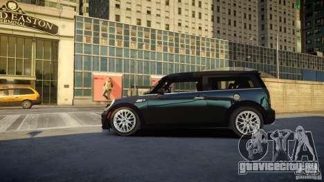 Mini Cooper Clubman для GTA 4 вид слева