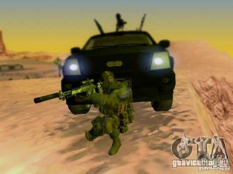 Suv Call Of Duty Modern Warfare 3 для GTA San Andreas двигатель