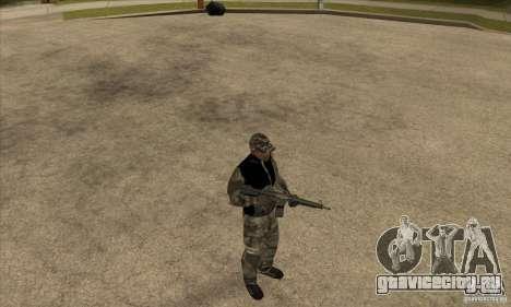 Камуфляжная одежда для GTA San Andreas третий скриншот