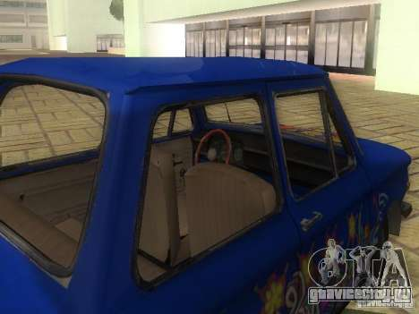 Хиппи ЗАЗ для GTA San Andreas вид справа