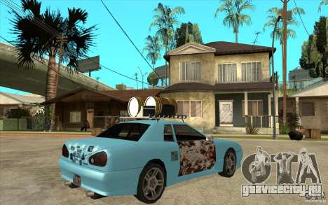 Elegy Rost Style для GTA San Andreas вид справа