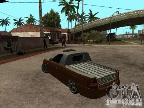 ВАЗ 2170 Пикап для GTA San Andreas вид слева