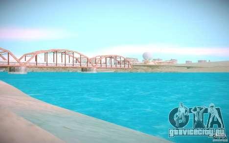 HD-вода для GTA San Andreas второй скриншот