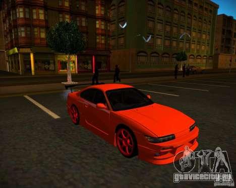 Nissan Silvia S15 face S13 V.2 для GTA San Andreas вид справа