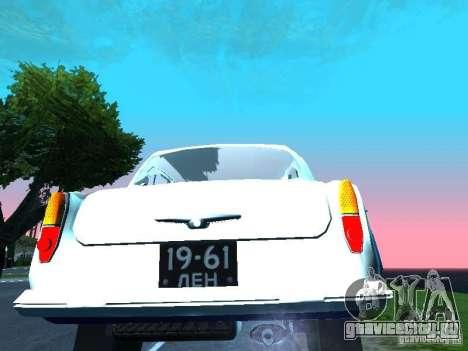 Москвич 403 С Милиция для GTA San Andreas вид справа