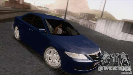 Mazda 6 2006 для GTA San Andreas вид слева