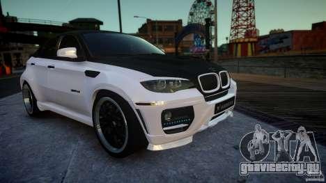 BMW Х6 Hamann для GTA 4 вид справа