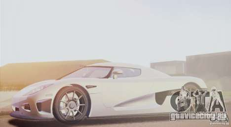 Koenigsegg CCX 2006 v2.0.0 для GTA San Andreas вид слева
