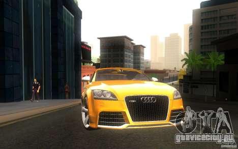 Audi TT RS для GTA San Andreas вид сзади слева