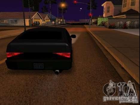 New Blistac для GTA San Andreas вид слева