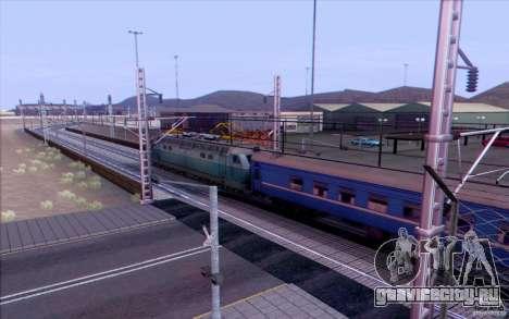 Русская ЖД модификация v1.0 для GTA San Andreas четвёртый скриншот