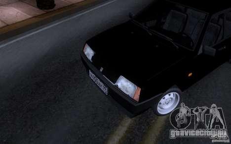 Ваз 21099 Синька для GTA San Andreas вид слева