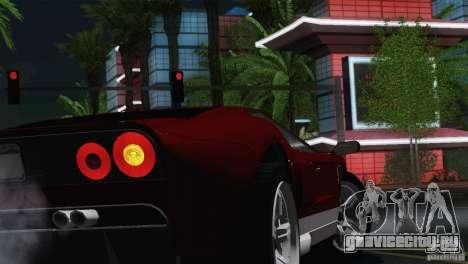 Bullet GT from TBOGT для GTA San Andreas вид справа