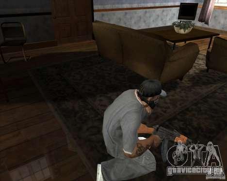АК-47 модернизированный для GTA San Andreas третий скриншот