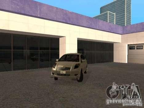 Toyota Yaris Sport 2008 для GTA San Andreas