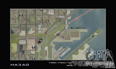 Обновлённая заправка ТНК и ТНК Прицеп для GTA San Andreas четвёртый скриншот
