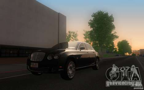 Bentley Continental Flying Spur для GTA San Andreas