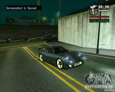 Mazda RX-7 WeaponWar для GTA San Andreas
