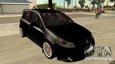Suzuki SX4 Rally Tuning для GTA San Andreas вид сзади