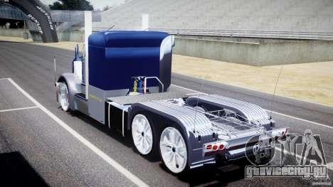 Peterbilt Truck Custom для GTA 4 вид сбоку