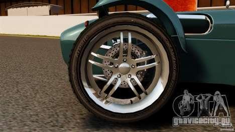 Caterham Superlight R500 для GTA 4 вид сзади