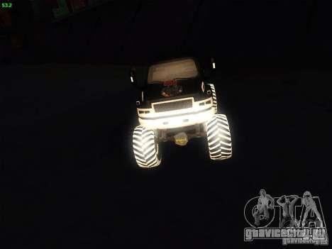 GMC Monster Truck для GTA San Andreas вид справа