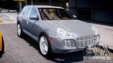 Porsche Cayenne 955 Turbo v1.0 для GTA 4 вид изнутри