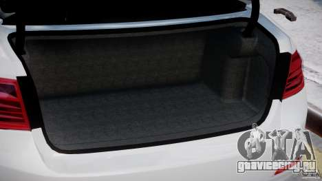 BMW 335i E30 2012 Sport Line v1.0 для GTA 4 салон