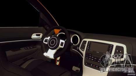 Infiniti FX37 v1 для GTA San Andreas вид справа