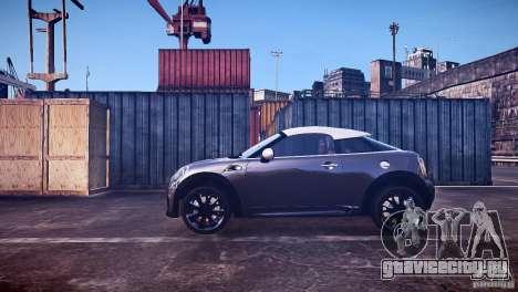 Mini Coupe Concept v0.5 для GTA 4 вид слева