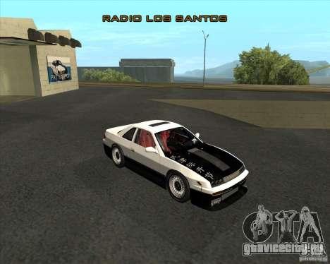 Nissan Silvia S13 streets phenomenon для GTA San Andreas вид сзади слева