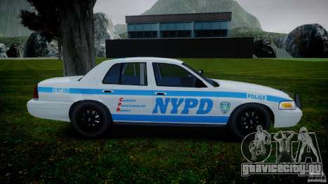 Ford Crown Victoria 2003 v.2 NOoSe для GTA 4 вид изнутри