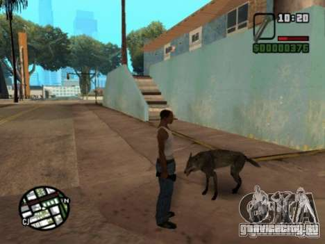 Animals in Los Santos для GTA San Andreas третий скриншот