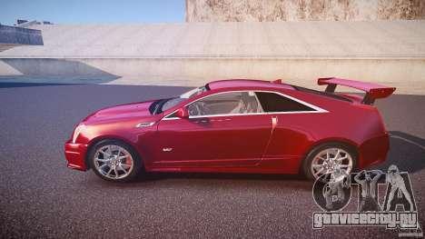 Cadillac CTS-V Coupe для GTA 4 вид слева