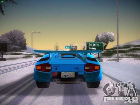 Lamborghini Countach LP5000 для GTA San Andreas вид справа