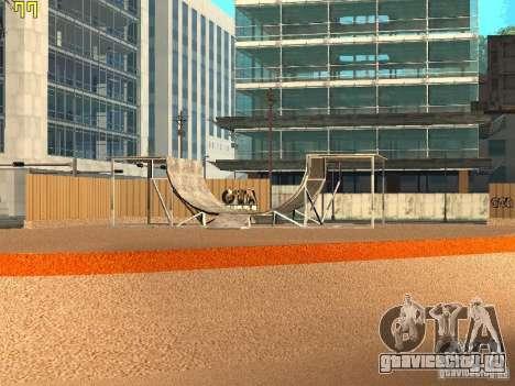 New SkatePark v2 для GTA San Andreas второй скриншот