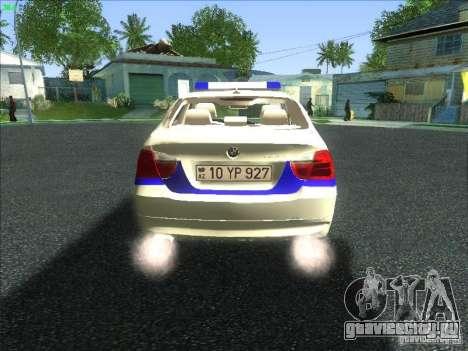 BMW 330i YPX для GTA San Andreas вид справа