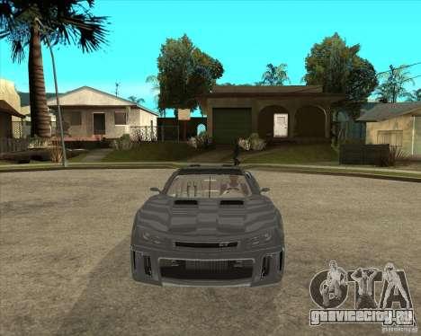 Барс Теория Гранд Туризмо для GTA San Andreas вид сзади