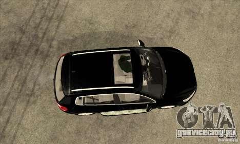 Volkswagen Tiguan 2.0 TDI 2012 для GTA San Andreas вид сзади