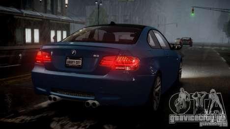 BMW M3 E92 ZCP 2012 для GTA 4 вид слева