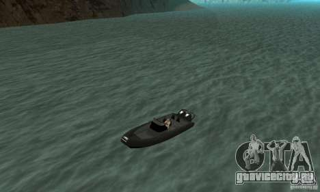 GTAIV Dinghy для GTA San Andreas