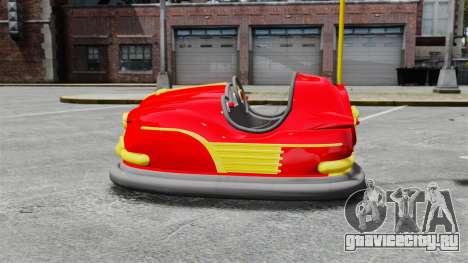 Бамперная машинка для GTA 4 вид слева